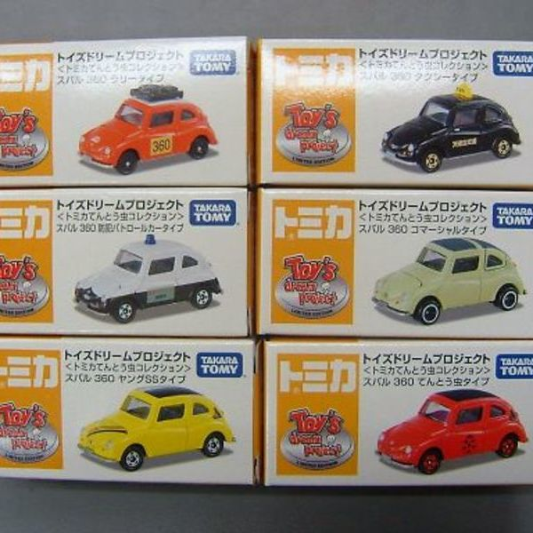 トミカ トイズドリームプロジェクト スバル360 6台 3,980円