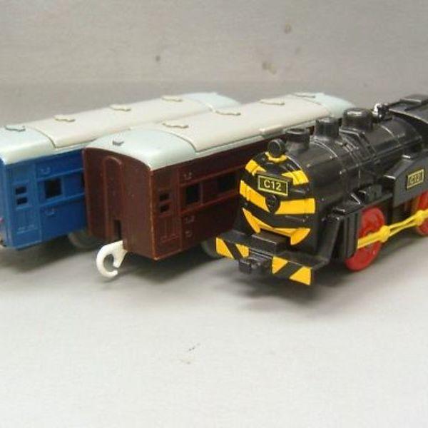 プラレール C12 ゼブラ 蒸気機関車 1,500円