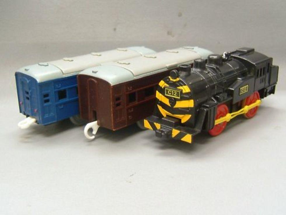 プラレール C12 ゼブラ 蒸気機関車 1,500円のサムネイル