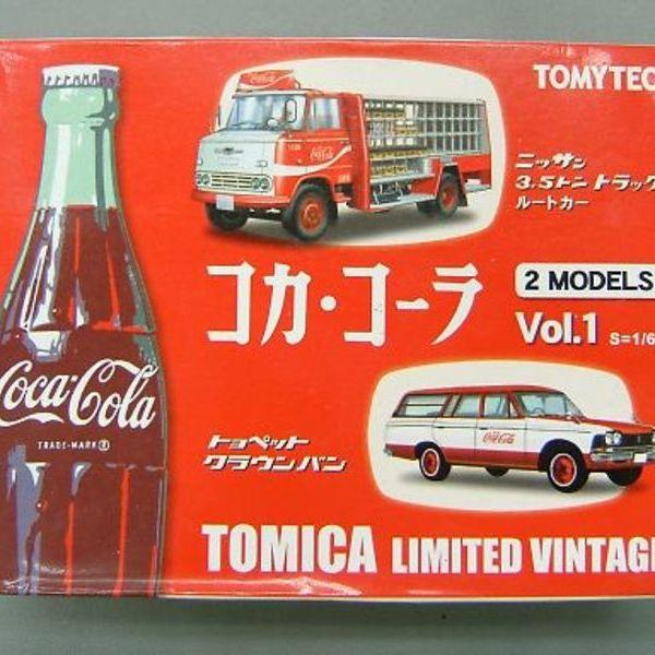 トミカリミテッド ヴィンテージ コカ・コーラ 2MODELS Vol.1  3,980円