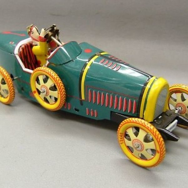 ブリキの車 ブガッティ T-35 1,000円