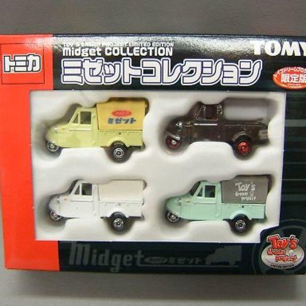 トミカ トイズドリーム ミゼットコレクション 4台セット 4,380円