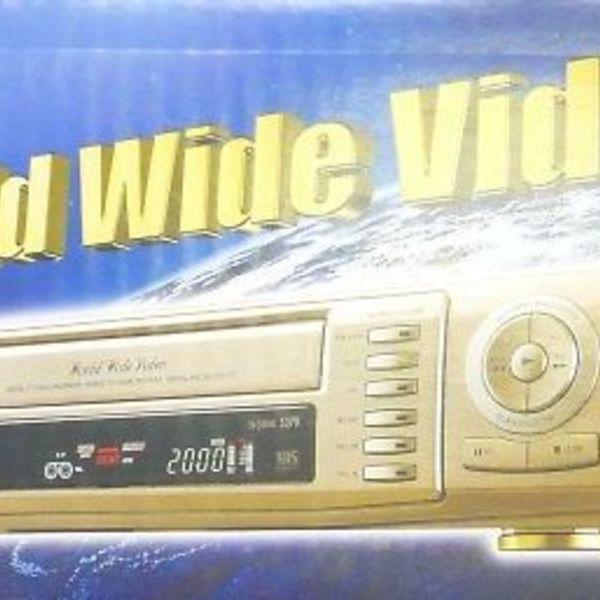 デッドストック SAMSUNG VHSビデオデッキ SV-5000W