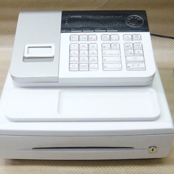 カシオ 電子レジスター SE-S20-WE 13,500円