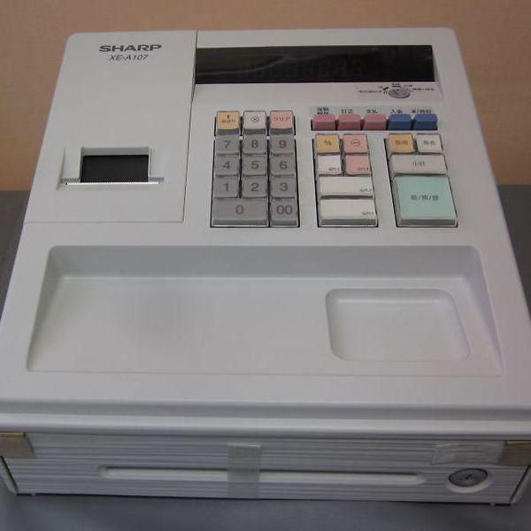 シャープ レジスター XE-A107  9,800円