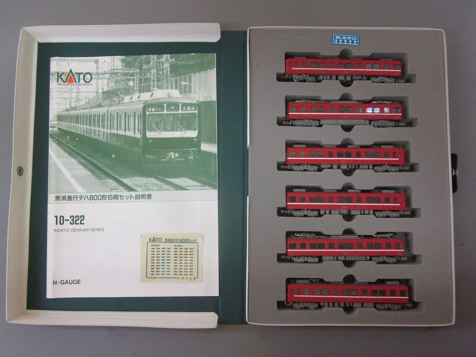 KATO 10-322 京浜急行電鉄デハ800形 6両セット 14,800円のサムネイル