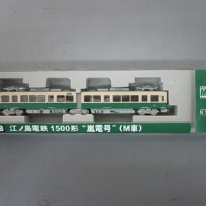 MODEMO NT118 江ノ島電鉄 1500形 嵐電号 (M車)8,500円