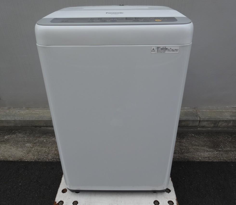 パナソニック 洗濯機 5.0kg NA-F50B10 2017年製 税込み12,100円のサムネイル
