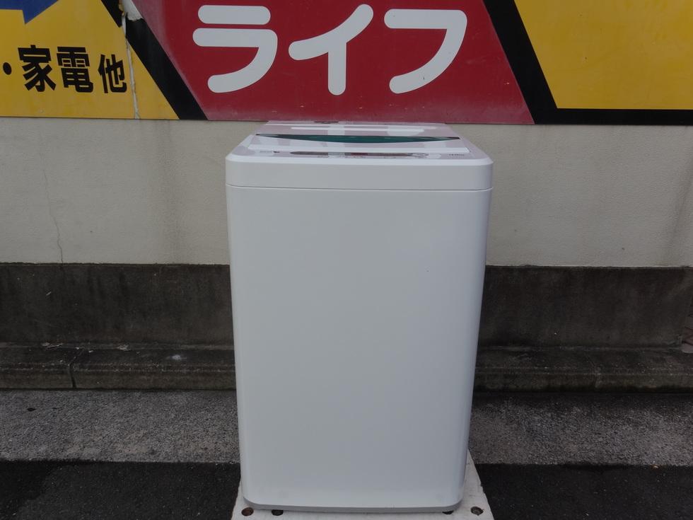 YAMADA 洗濯機 4.5kg  YWM-T45A1 2017年製 税込み8250円のサムネイル