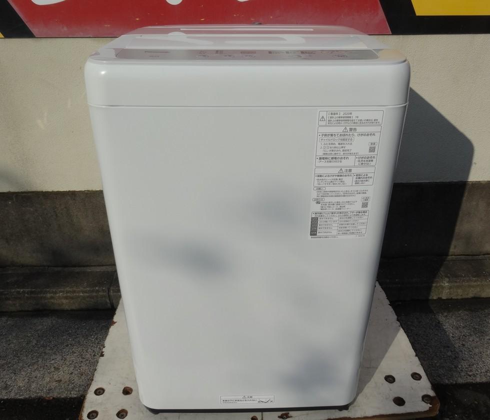 パナソニック 全自動洗濯機 5.0kg NA-F50B14  2020年製 税込み18480円のサムネイル